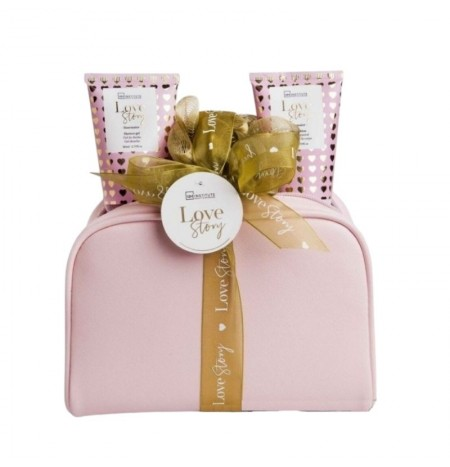 IDC Institute Pink Clutch Bathroom Set