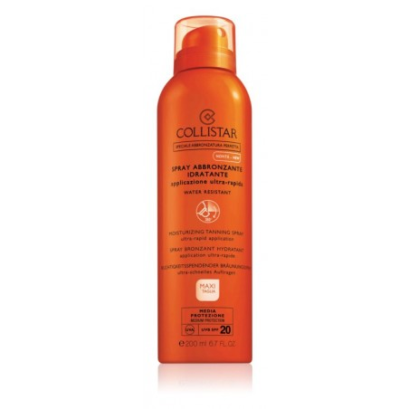 Collistar Moisturizing Tanning Spray SPF20