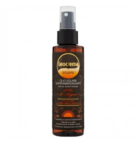 Leocrema Super Tanning Sun Oil with Argan Oil Spray