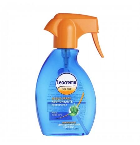 Leocrema Mint and Aloe Vera Tanning Spray Water