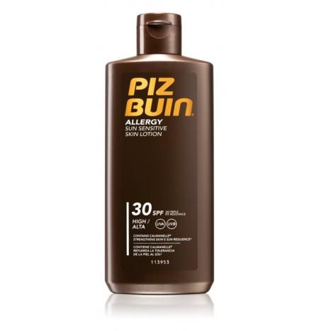 Piz Buin Allergy Tanning Milk Sun Sensitive Skin SPF30