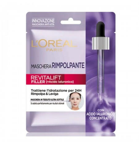 L'Oréal Paris Revitalift Filler Plumping Fabric Mask