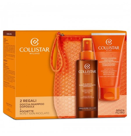 Collistar Super-Tanning Moisturizing Dry Oil Kit