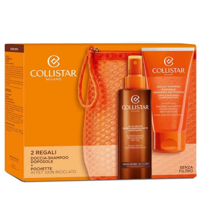 Collistar Super-Tanning Moisturizing Dry Oil Kit