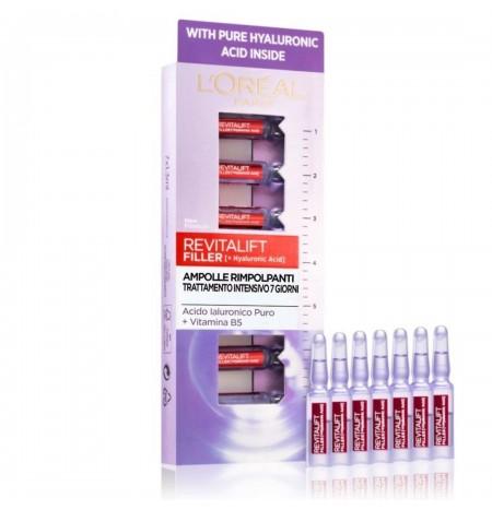 L'Oréal Paris Revitalift Filler + [hyaluronic acid] Plumping Ampoules