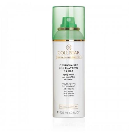Collistar Deodorante Multi-Attivo 24 ore Con Microfibre di Cotone Spray