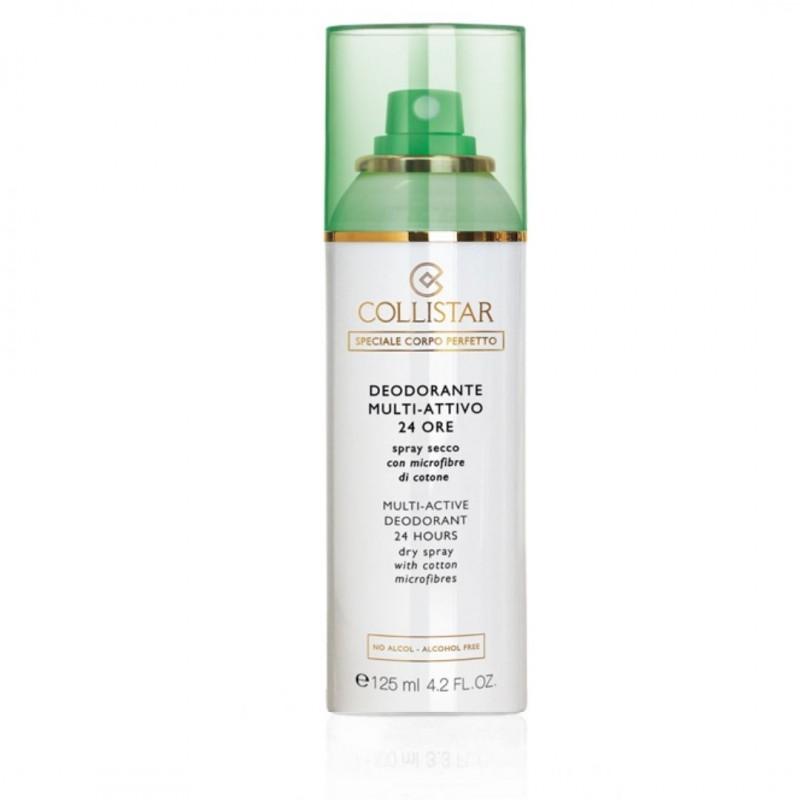 Collistar Multi-Active Deodorant Spray 24 hours with cotton microfibers