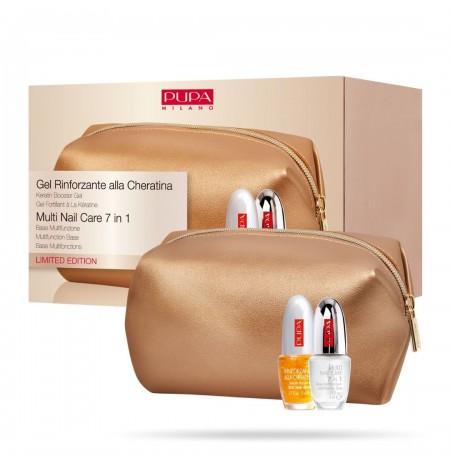 Pupa Milano Keratin Strengthening Gel & Multi Nail Care 7 in 1