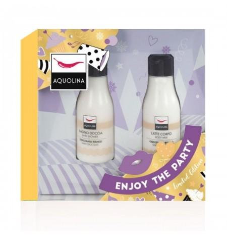 Aquolina Cioccolato Bianco Bagno Doccia + Latte Corpo