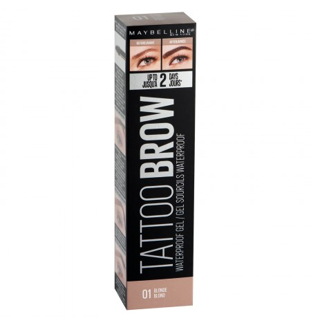 Maybelline Tattoo Brow Waterproof Gel 5ml 01 biondo