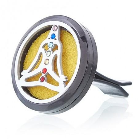 Diffusore per Auto - Yoga Chakra - 30mm